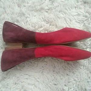 Banana Republic Leather Flats, 7.5